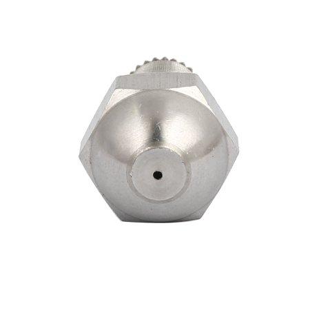 1/4BSP 1.0mm Orifice Spray Dia 304 Stainless Steel Fine Atomizing Mist Nozzle - image 1 of 3