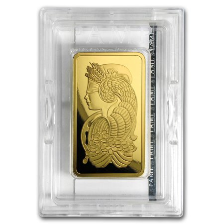 5 Oz Gold Bar Pamp Suisse Lady Fortuna Veriscan W Ay