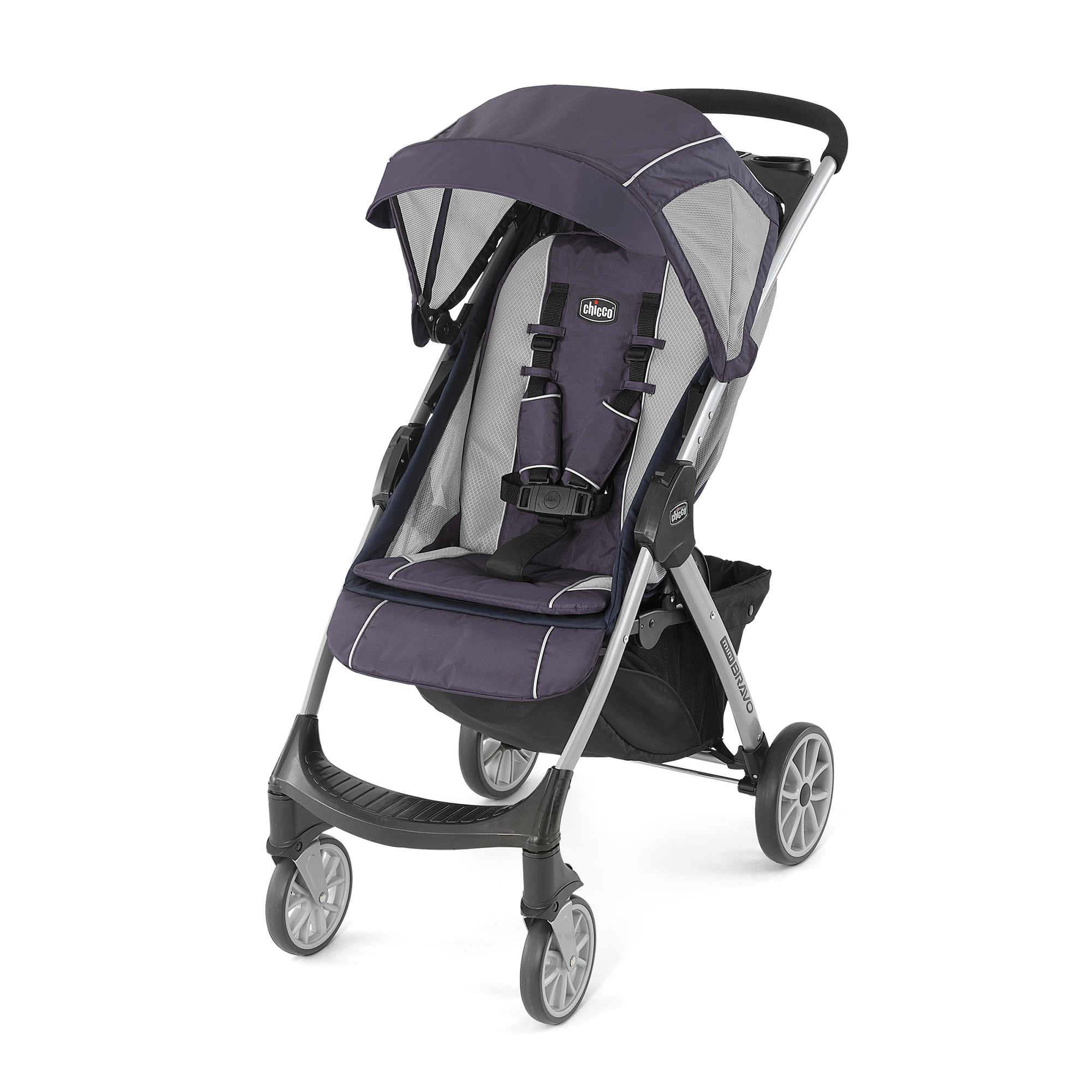 Chicco Mini Bravo Lightweight Stroller Mulberry by Chicco