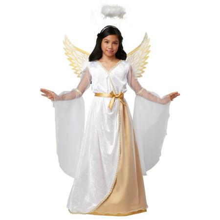 Girls Guardian Angel Costume - Big Girl Costumes