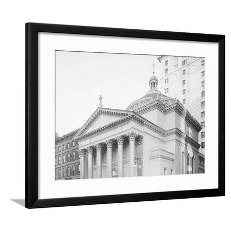 Dr. Parkhursts (Madison Square Presbyterian) Church, New York, N.Y. Framed Print Wall
