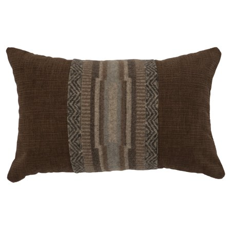- Wooded River Lodge Lux Geometric Indoor Pillow