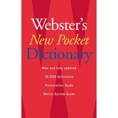 Webster's New Pocket Dictionary