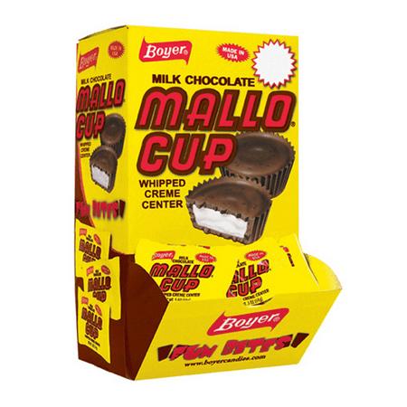Boyer Candy, Milk Chocolate Mallo Cups, Changemaker, .5 Oz., 60 Ct.