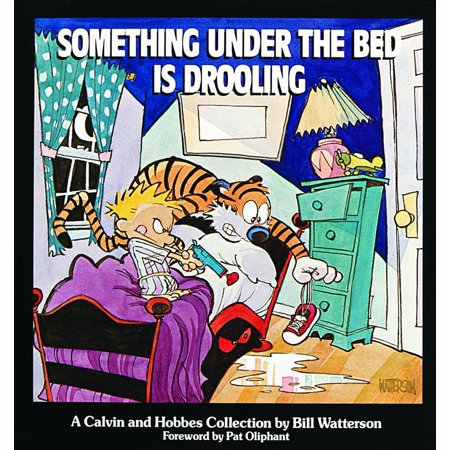 Calvin Et Hobbes Halloween (Something Under the Bed Is Drooling : A Calvin and Hobbes)
