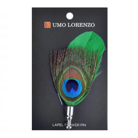 Umo Lorenzo Men's Lapel Pins Flower Pin Suit Accessories Rose Boutonniere Pins Mens Pin Dot