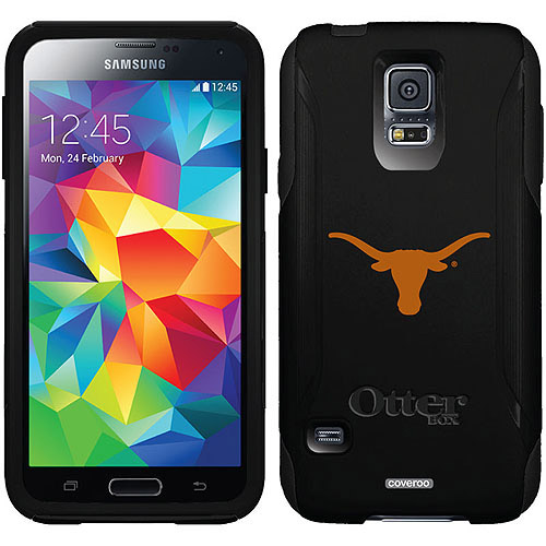 University of Texas Mascot Design on OtterBox Commuter Series Case for Samsung Galaxy S5