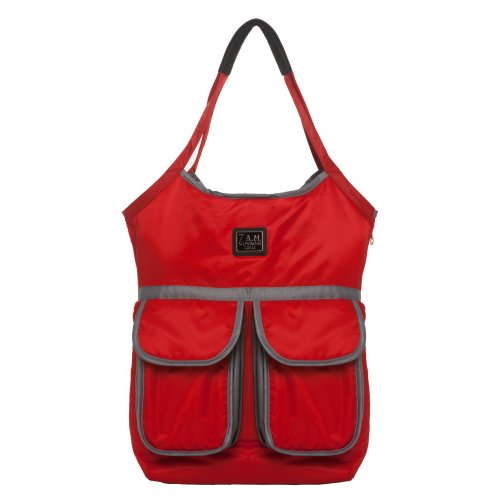 7AM Enfant Barcelona Diaper Bag, Red