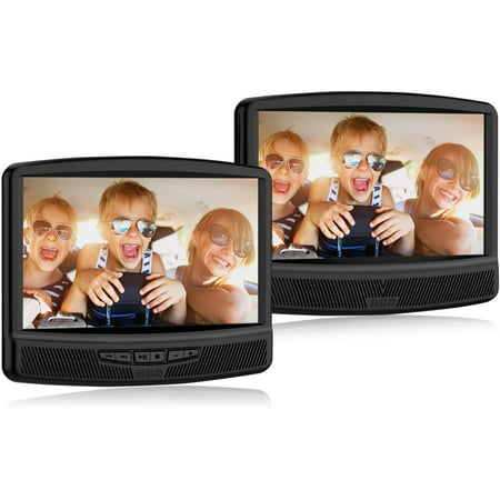 "RCA 10"" Dual Screen Mobile DVD System (DRC79108)"