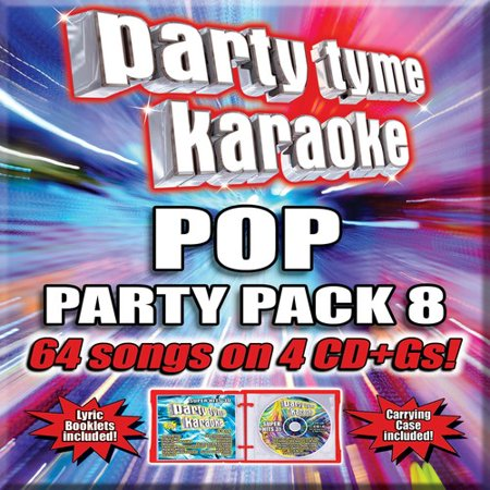 Party Tyme Karaoke: Pop Party Pack 8 (CD)