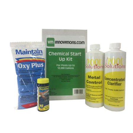 Swimming Pool Spring Start Up Chemical Opening Kit Pools Up To 10 000 Gallons