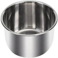 Instant Pot Inner Pot with 3-Ply Bottom, 6 Quart, Stainless Steel