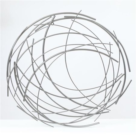 Luxen Home Abstract Iron Sticks Round, Round Wall Decor Canada