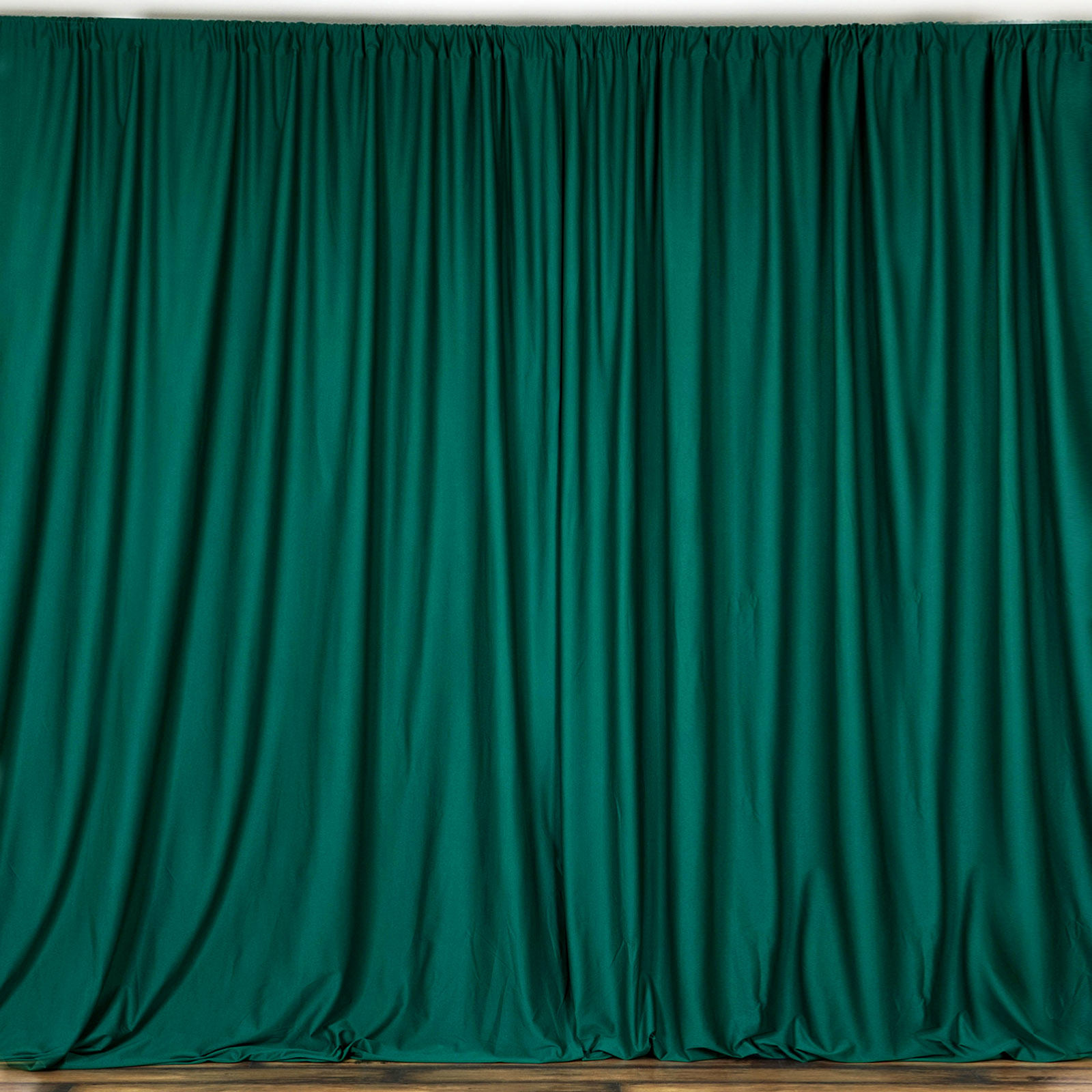 Curtain Polyester Backdrop Drapes Panels with Rod Pocket 10 x 10 Ft Charcoal