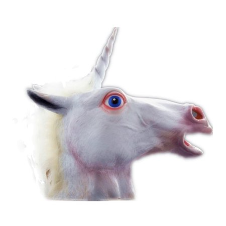Unicorn Horse Head Mask Costume - Horse Head Halloween