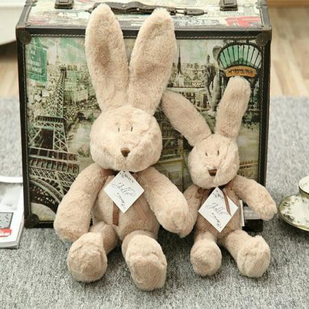 - Cute Cartoon Rabbit Bear Plush Toys Soft Comfortable Home Decoration Baby Pacify Doll Gift