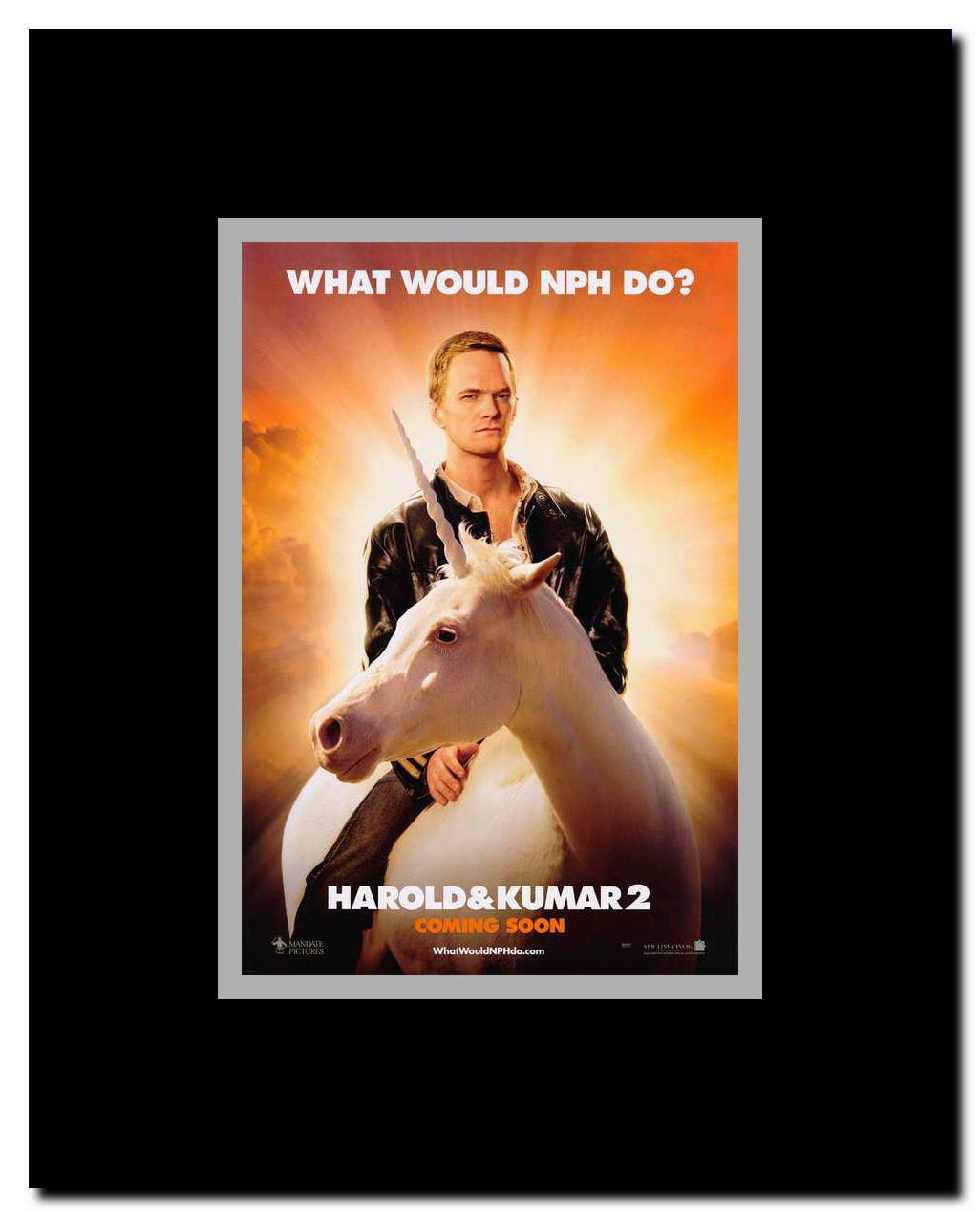 Harold And Kumar Escape From Guantanamo Bay Full Movie Free harold and kumar: escape from guantanamo bay framed movie poster -  walmart