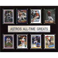 C&I Collectables MLB 12x15 Houston Astros All-Time Greats Plaque