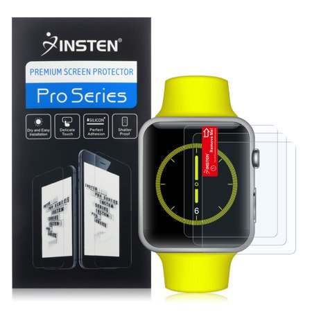 Insten 3-pack Anti-Glare Protector For Apple Watch 42mm Series 2 / Edition Series 2 / Series 1 - image 2 de 2
