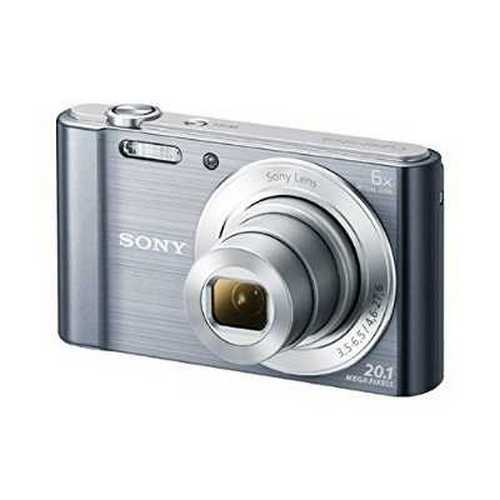 Refurbished Sony Cyber-Shot Silver DSC-W810 Digital Camera with 20.1 Megapixels and 6x Optical Zoom