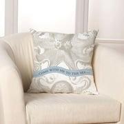 Checkerboard, Ltd Octopus Throw Pillow