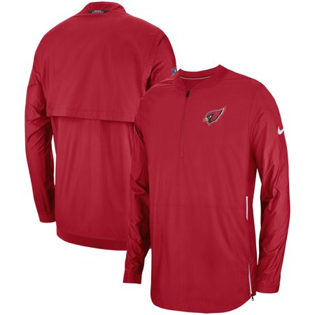 - Arizona Cardinals Nike Sideline Lockdown Quarter-Zip Jacket - Cardinal