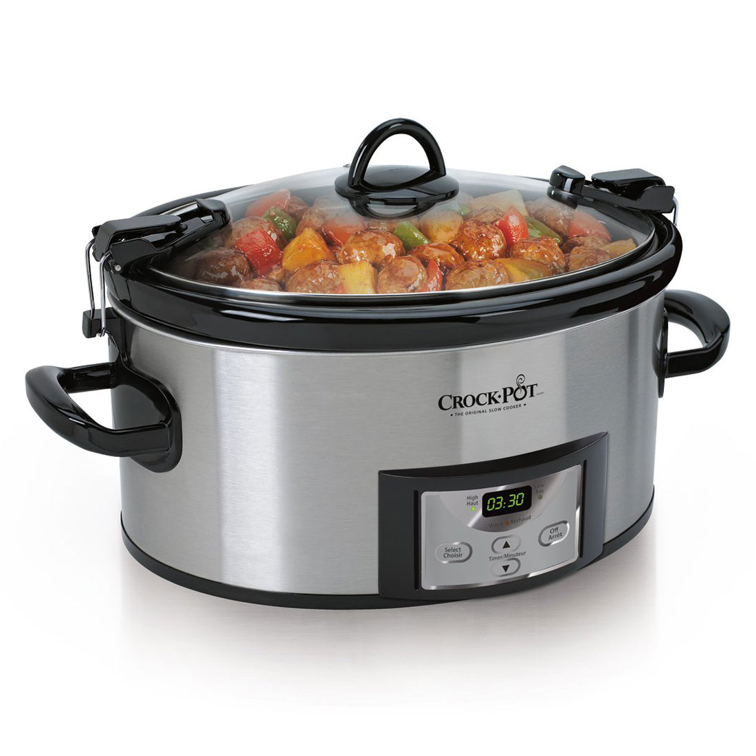 Crock-Pot Cook & Carry 6-Qt Programmable Slow Cooker (Certified Refurbished)