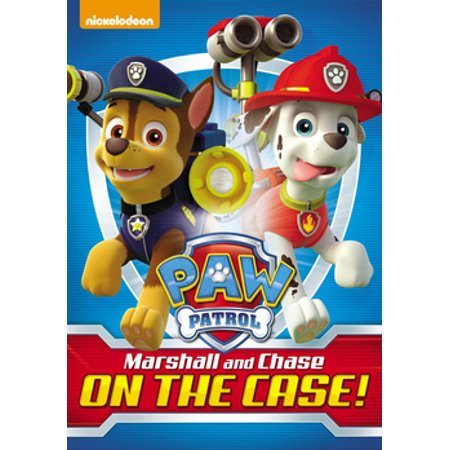 Paw Patrol: Marshall and Chase on the Case! (DVD)](Paw Patrol Halloween Printables)