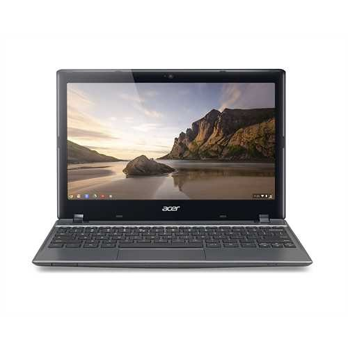 Refurbished Acer C710-2834 11.6-Inch Chromebook (Iron Gray)