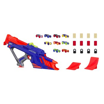 2-Pk. Nerf Nitro Moto Fury Rapid Rally Action Figure