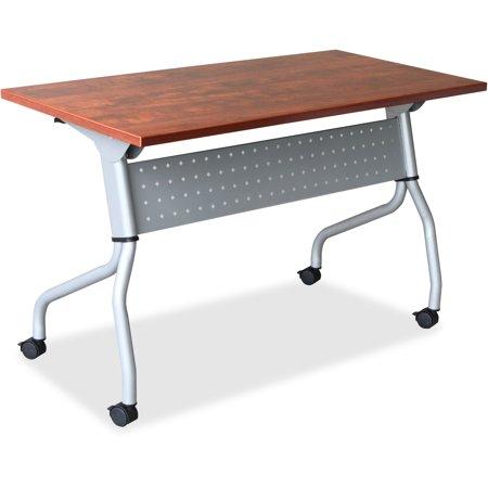 Lorell, LLR60720, Cherry Flip Top Training Table, 1 Each