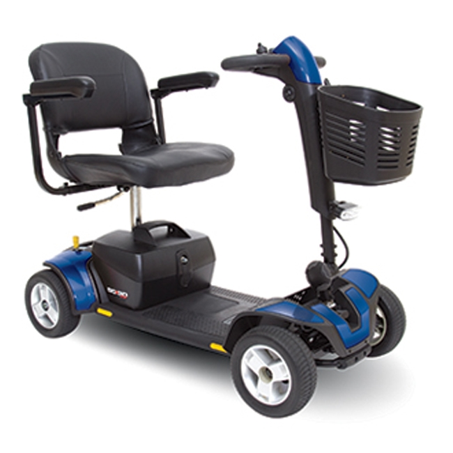 Pride Mobility SC74 GoGo Sport 4 - Blue - Electric Scooter