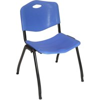 """Regency """"M"""" Style Stackable Chair with Handle"""