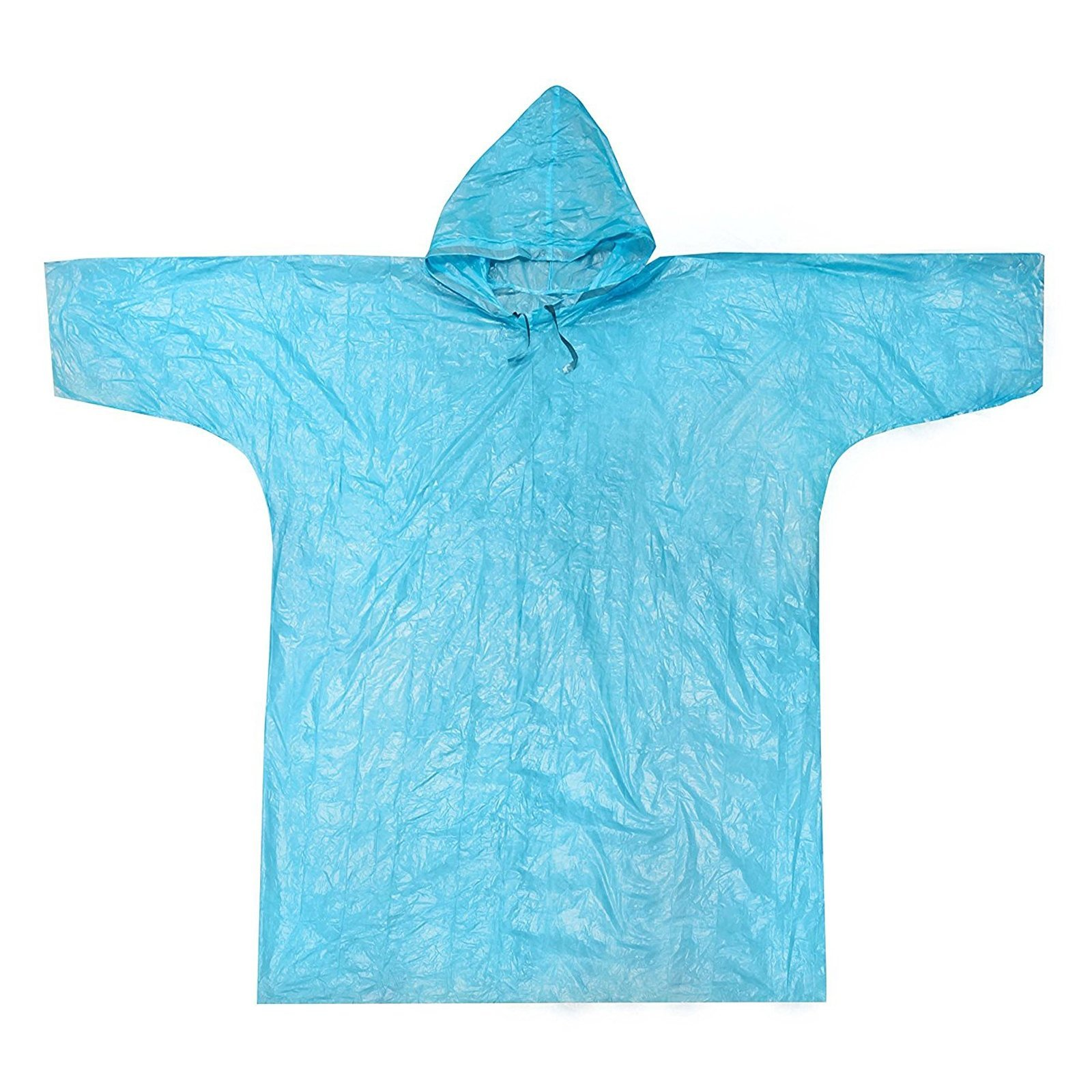 (4 Pack) ASR Outdoor Clear Emergency Poncho Set (3 Colors) by ASR Outdoor