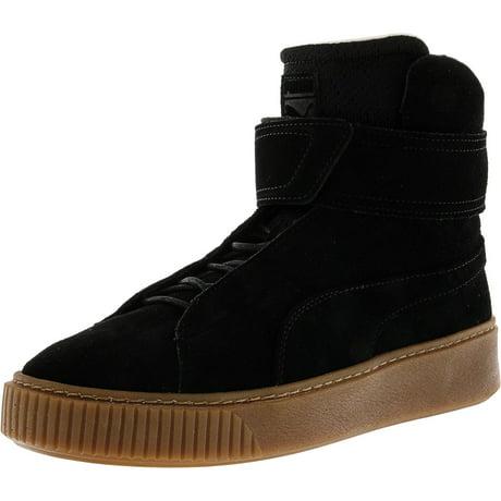 b44166873ac5 Puma Women s Platform Mid Ow Olive Night   High-Top Fashion Sneaker - 7.5M