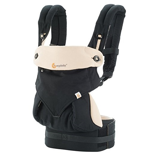 Ergo Baby Four Position 360 Baby Carrier Black Camel by Ergo Baby