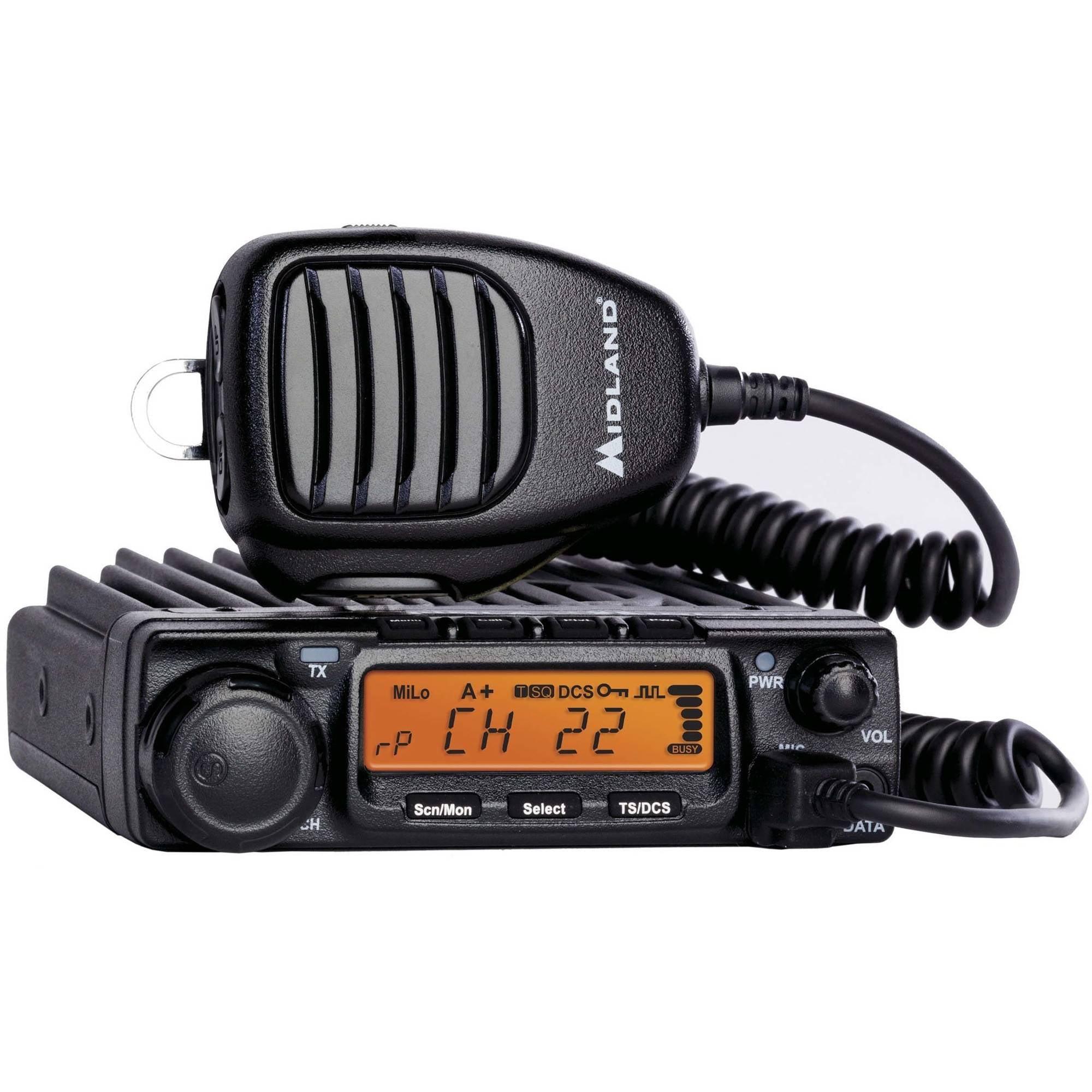 Midland MXT400 MicroMobile Two-Way Radio by Midland Radio