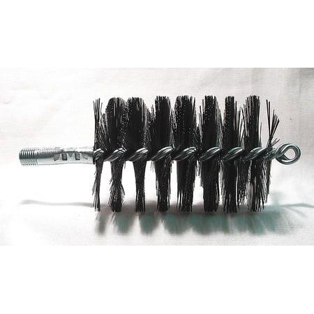 Dia Flue Brushes (Flue Brush,Dia 3,1/4 MNPT,Length 8 TOUGH GUY)