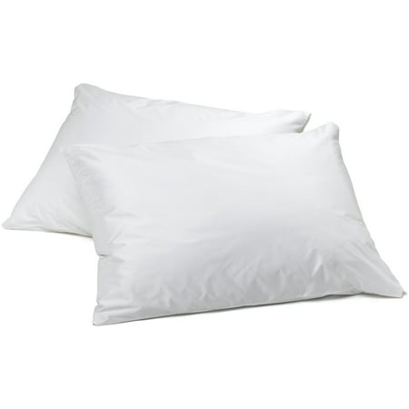 Vinyl Pillow Protector With Zipper 2 Pillowcase Walmart Com