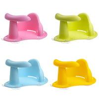 Baby Bathroom Bath Tub Chair Seat Infant Toddler Shower Tub  Suction Cup Ring Seat Anti Slip Safety Chair for Bath & Feeding