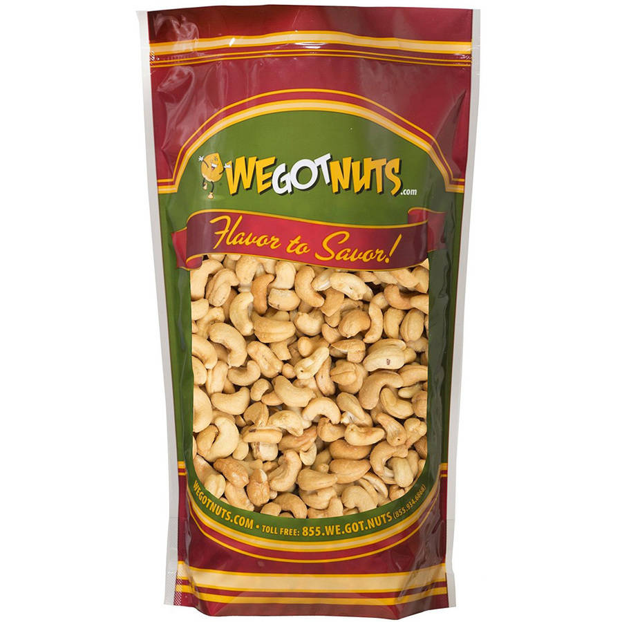 We Got Nuts Unsalted Roasted Cashews, 3 lbs