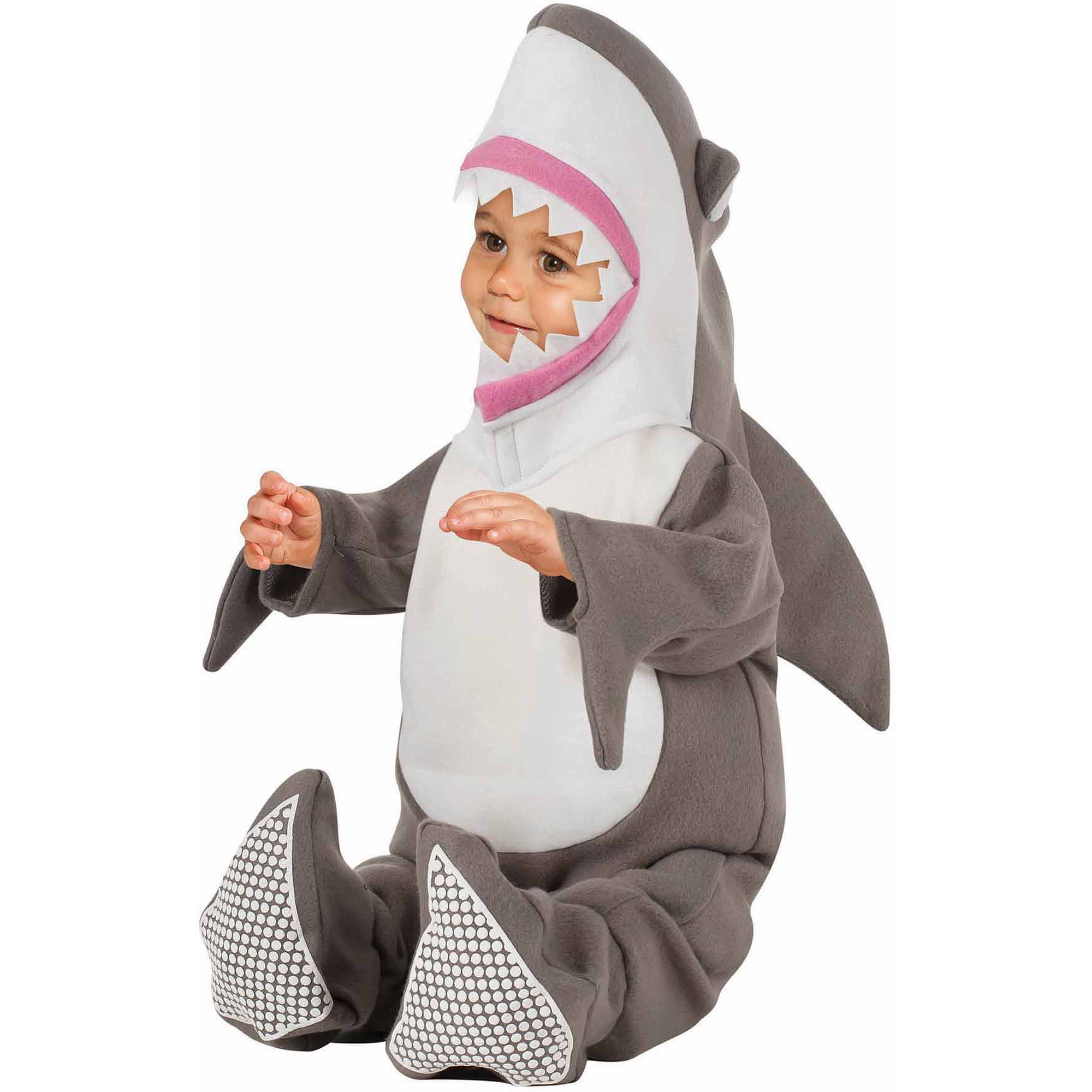 shark infant halloween costume walmartcom - Halloween Costume Shark
