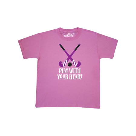 Field Hockey Player Coach Team Gift Youth T-Shirt