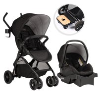 Product Image Evenflo Sibby Travel System W LiteMax Infant Car Seat Charcoal