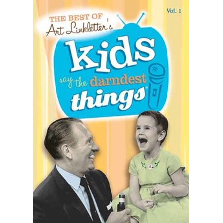 MOD-BEST OF KIDS SAY/DARNDEST THINGS VOL 1 (DVD/1952-69)NON-RETURNABLE (DVD) - Funny Things To Say On Halloween