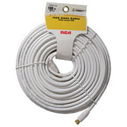 Audiovox VHW111N 100 ft. White Rg6 Coax Cable