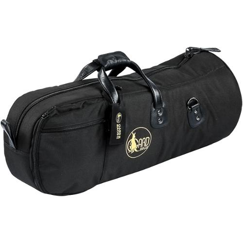 Gard Mid-Suspension Alto/Tenor Horn Gig Bag 45-MSK Black Synthetic w/ Leather Trim