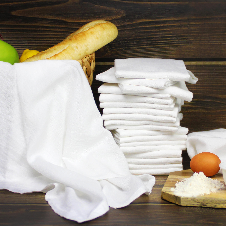 Orange Juice Flour Sack Cotton Kitchen Towel Tea Towel Dish Cloth