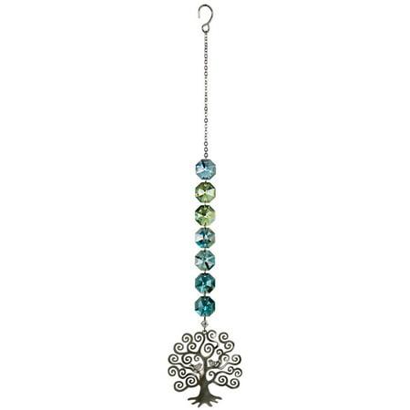 Woodstock Crystal Radiance Cascade Tree of Life Light Suncatcher Decoration CRTL for $<!---->