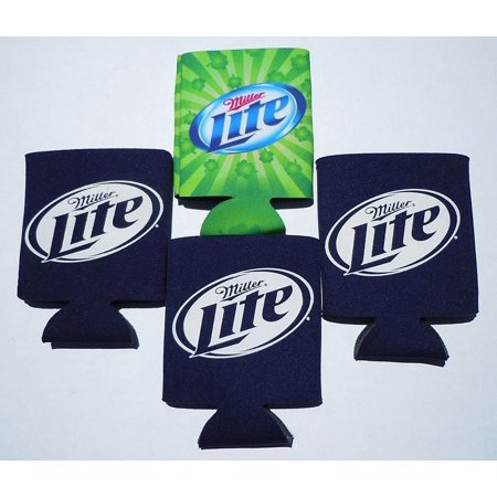 Set of 4 Miller Lite Beer Can Koozies for $<!---->